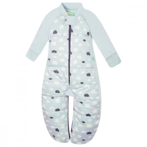ergopouch Sleep Suit Bag - Mint Clouds-2.5 TOG