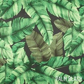 Round play mat- Palm