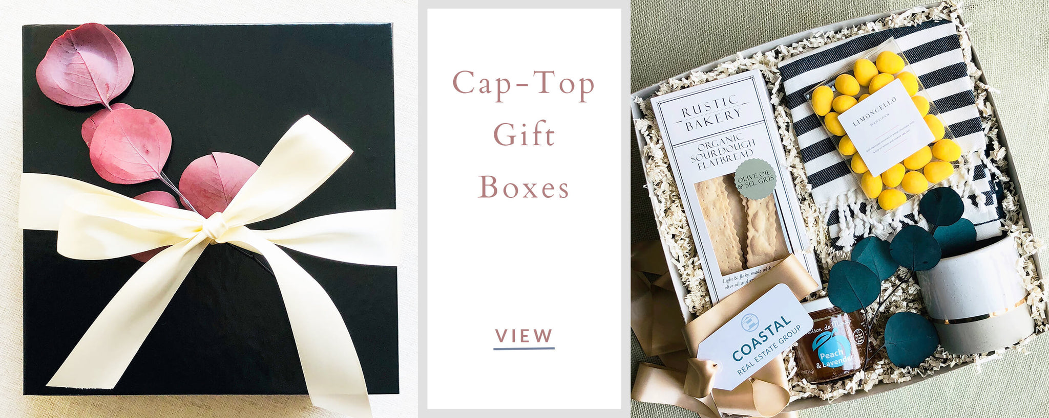 Custom Corporate Gifts - Cap Top Gift Boxes