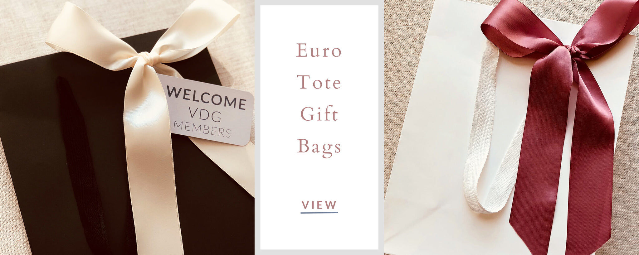 Corporate Custom Gifts - Euro Tote Gift Bags