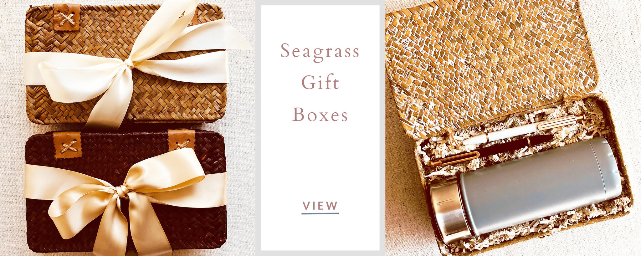 Custom Corporate Gifts - Seagrass Gift Boxes