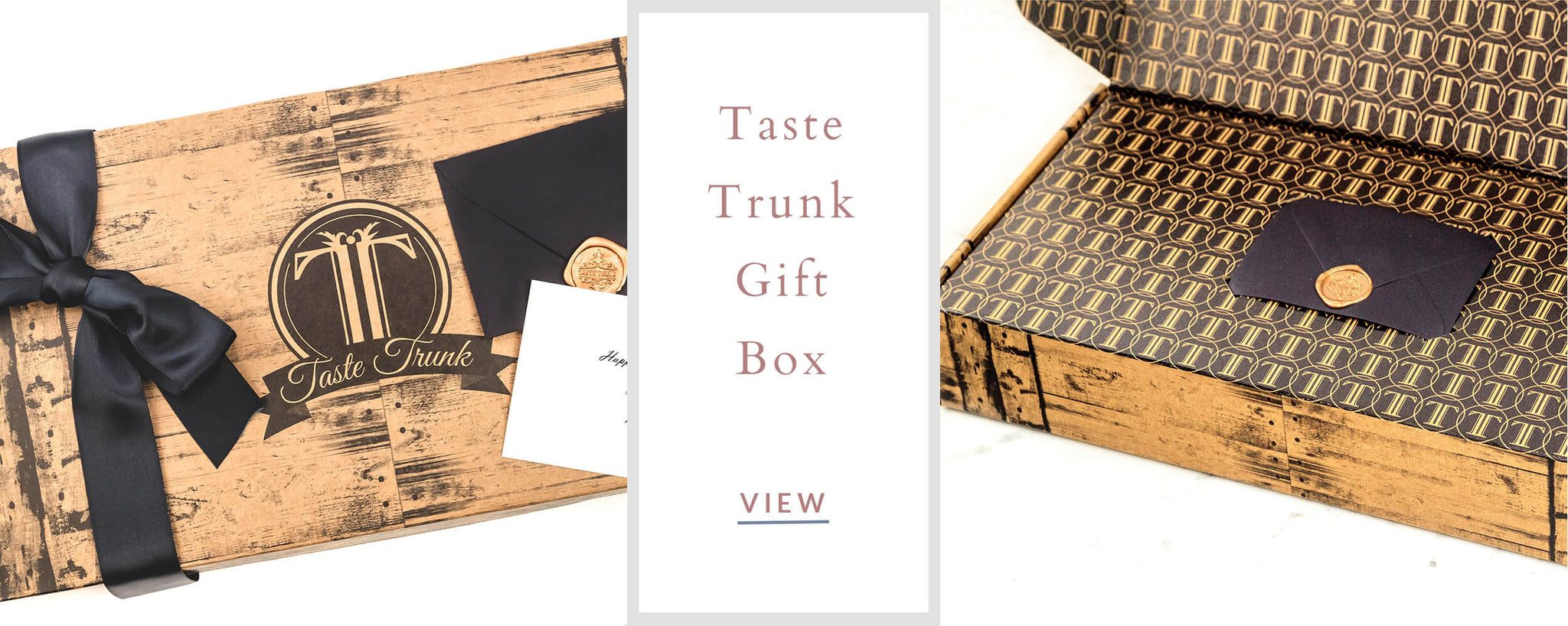 Corporate Custom Gifts - Taste Trunk Gift Box