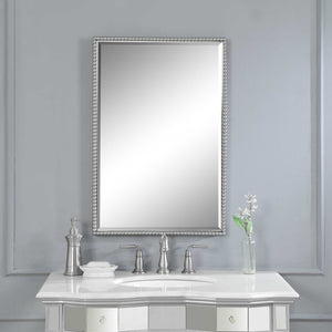 Sherise Brushed Nickel Vanity Mirror