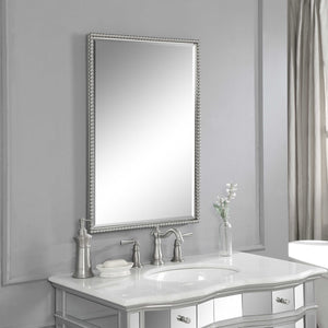 Sherise Brushed Nickel Vanity Mirror - taylor ray decor