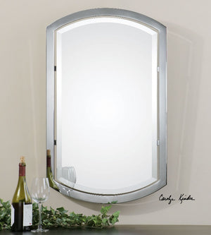 Jacklyn Arched Metal Mirror