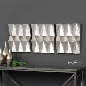 Maxton Multi-Faceted Panels S/3 - taylor ray decor
