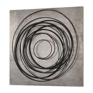 Whirlwind Iron Coils Metal Wall Art - taylor ray decor