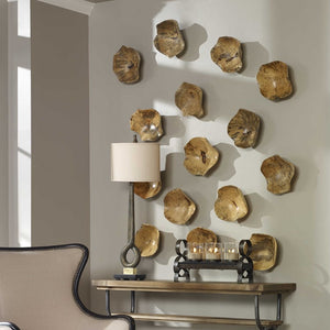 Tamarine Wood Wall Art S/3