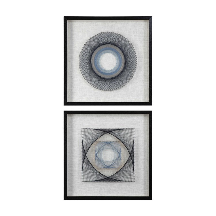 String Duet Geometric Art