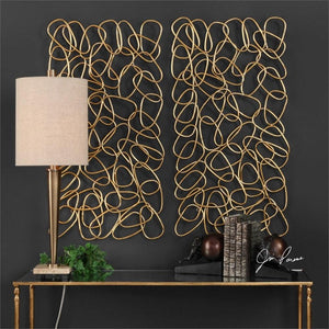 In the Loop Metal Wall Panels, S/2 - taylor ray decor