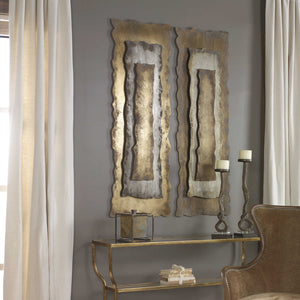 Jaymes Oxidized Metal Wall Panel - taylor ray decor