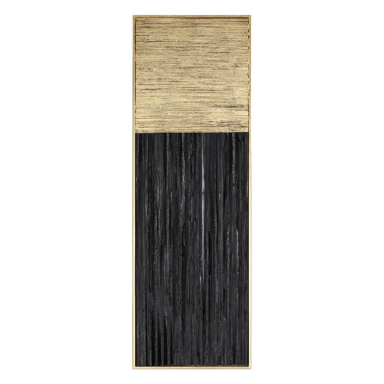 Pierra Gold Leaf Wood Wall Panel