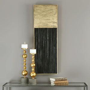 Pierra Gold Leaf Wood Wall Panel - taylor ray decor