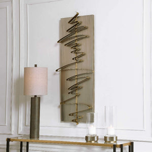 Script Metal Wall Decor