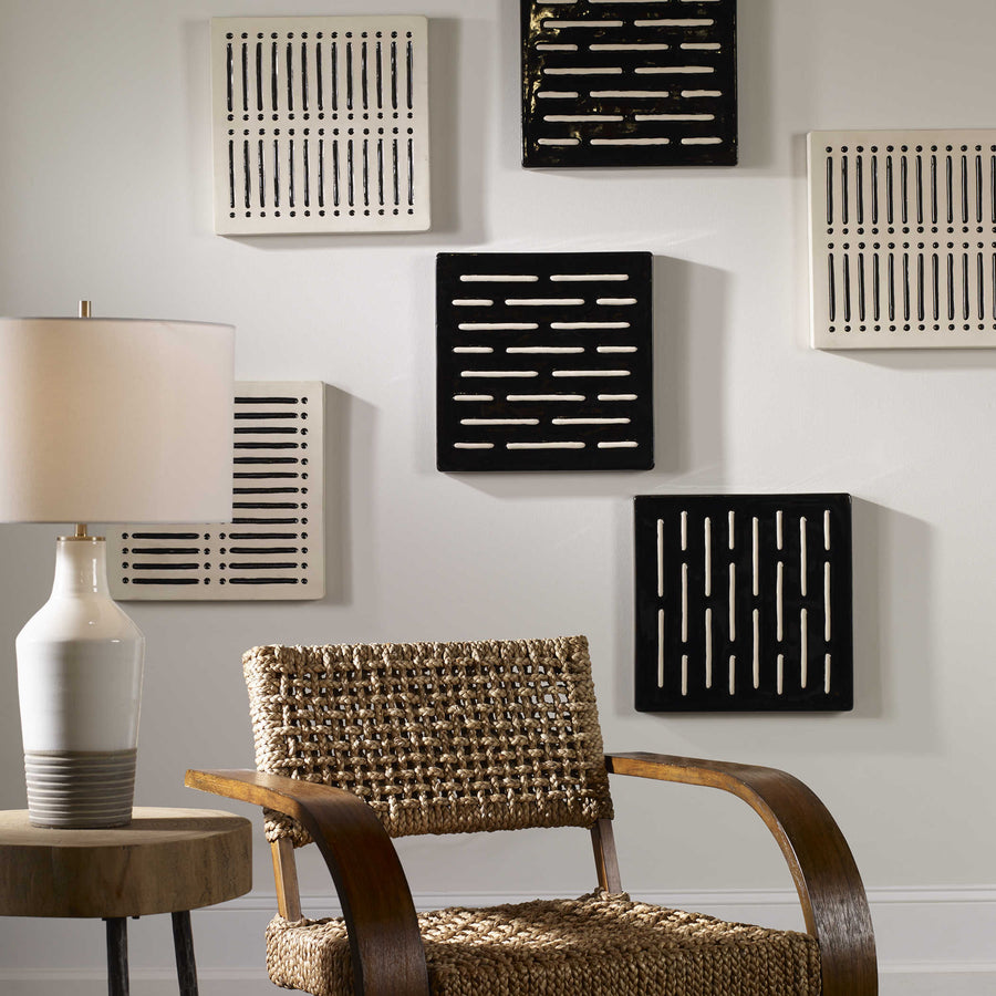 Domino Effect Wall Decor, S/2 - taylor ray decor