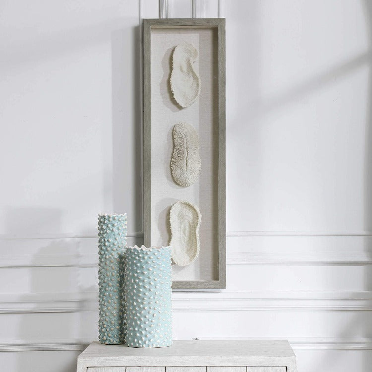 White Coral Shadow Box