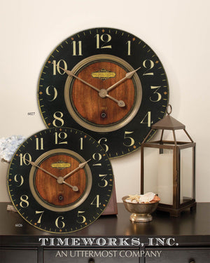"Shown with Alexandre Martinot 30"" Clock #06027 sold separately."
