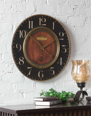 "Alexandre Martinot 23"" Wall Clock - taylor ray decor"