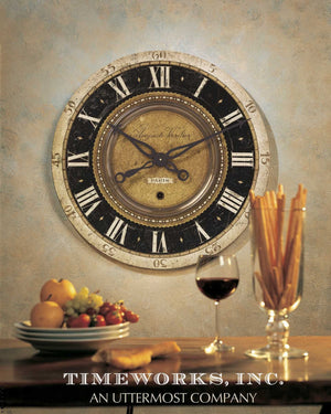 "Auguste Verdier 27"" Wall Clock - taylor ray decor"