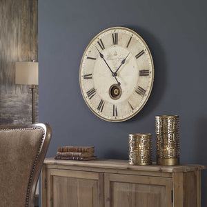 "Harrison Gray 23"" Clock - taylor ray decor"
