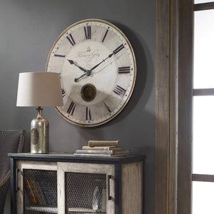 "Harrison Gray 30"" Wall Clock - taylor ray decor"
