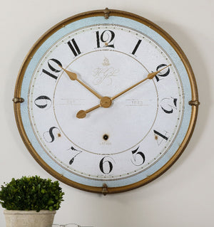 Torriana Wall Clock - taylor ray decor