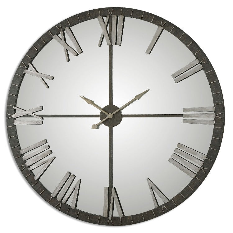 Amelie Large Bronze Wall Clock - taylor ray decor