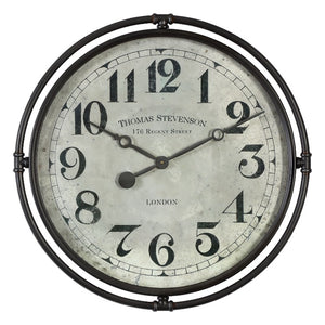 Nakul Industrial Wall Clock - taylor ray decor
