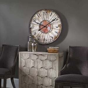 "Ellsworth 29"" Wall Clock - taylor ray decor"