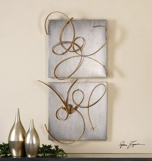 Harmony Metal Wall Art, S/2 - taylor ray decor