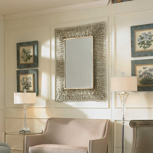 Corbis Decorative Forged Metal Mirror