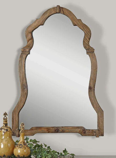 Agustin Light Walnut Mirror