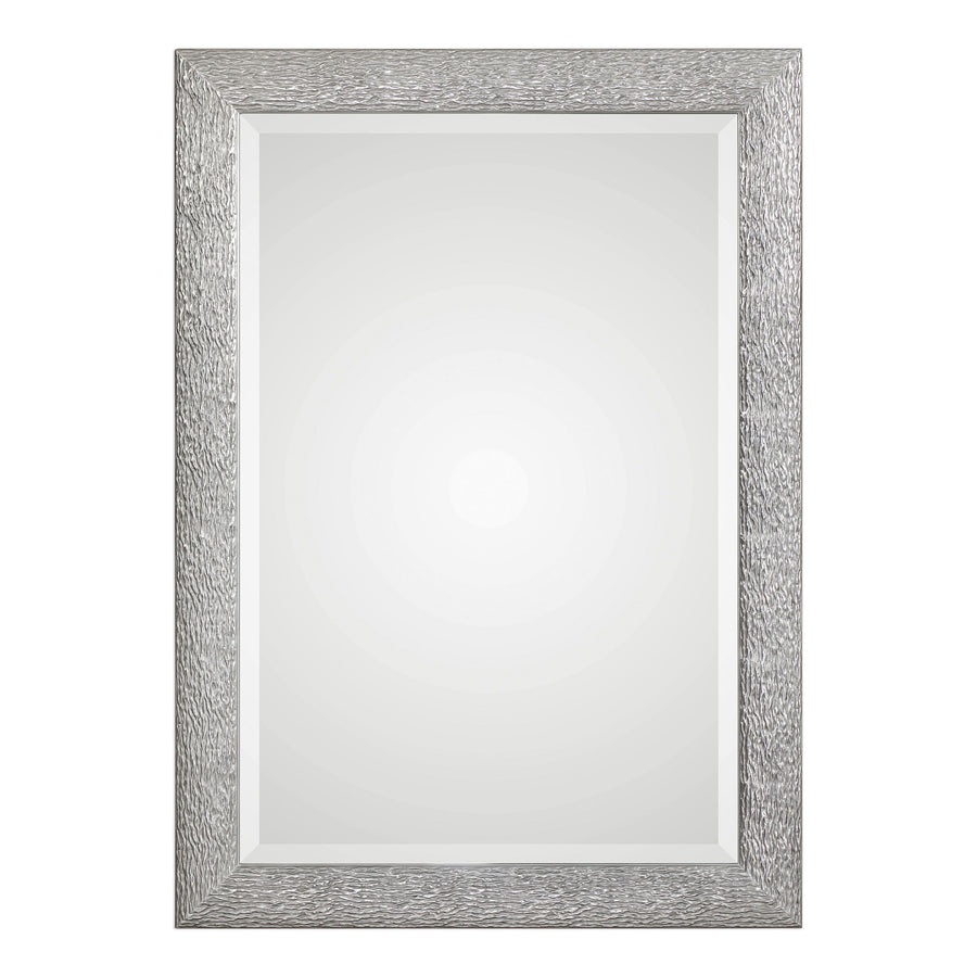 Mossley Metallic Silver Mirror - taylor ray decor