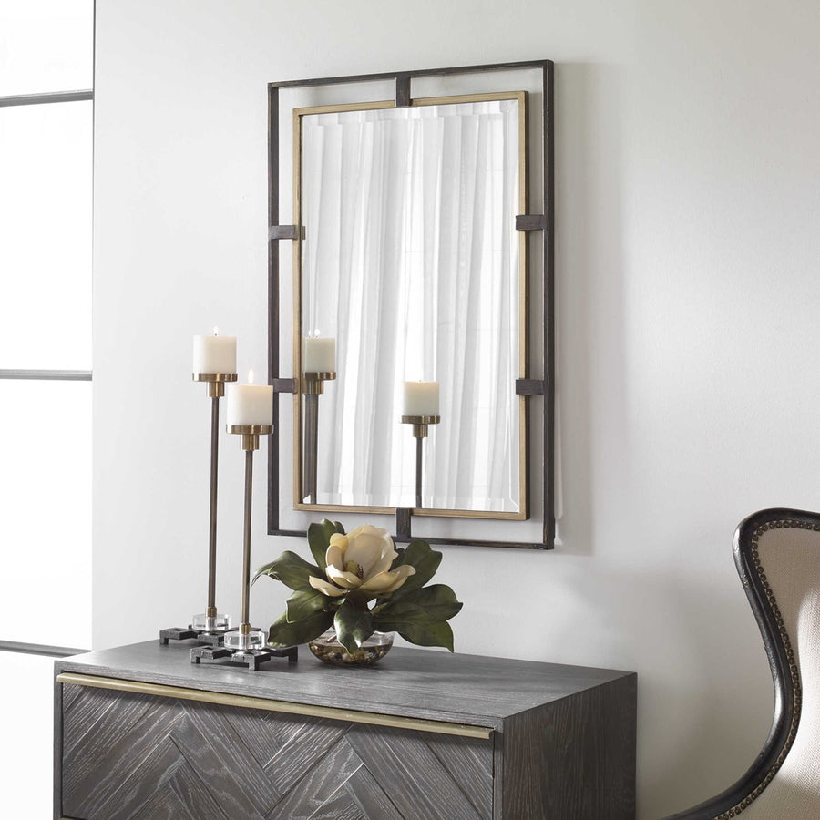Carrizo Rectangle Mirror - taylor ray decor