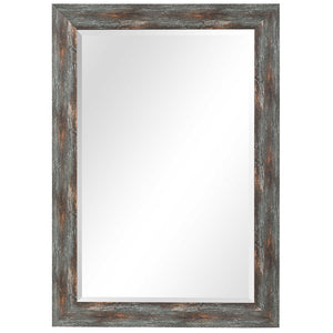 Owenby Burnished Rustic Mirror - taylor ray decor