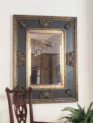 Cadence Antique Gold Mirror - taylor ray decor