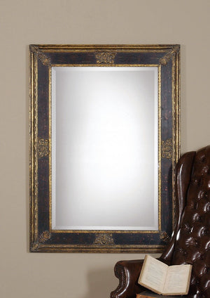 Cadence Antique Gold Vanity Mirror