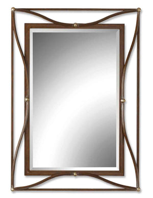 Thierry Bronze Mirror - taylor ray decor