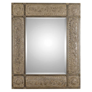 Harvest Serenity Champagne Gold Mirror - taylor ray decor