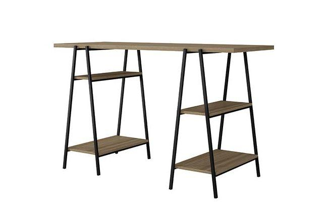 Ellis Modern Industrial Home Office Desk