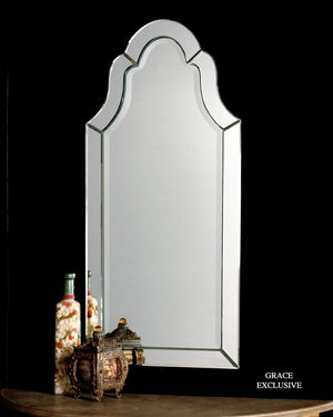Hovan Frameless Arched Mirror - taylor ray decor