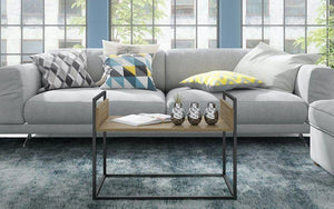 Ellis Modern Industrial Coffee Table
