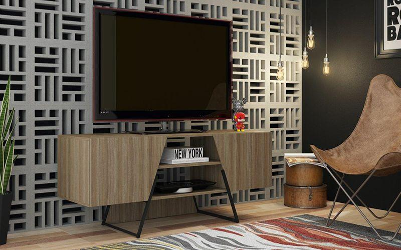 Ellis Modern Industrial TV Stand