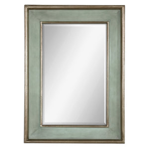 Ogden Antique Light Blue Mirror - taylor ray decor