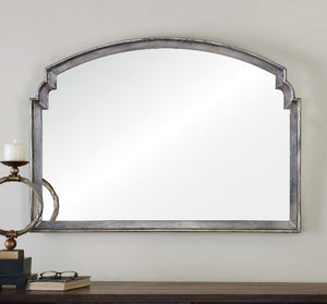 Via Della Silver Mirror - taylor ray decor