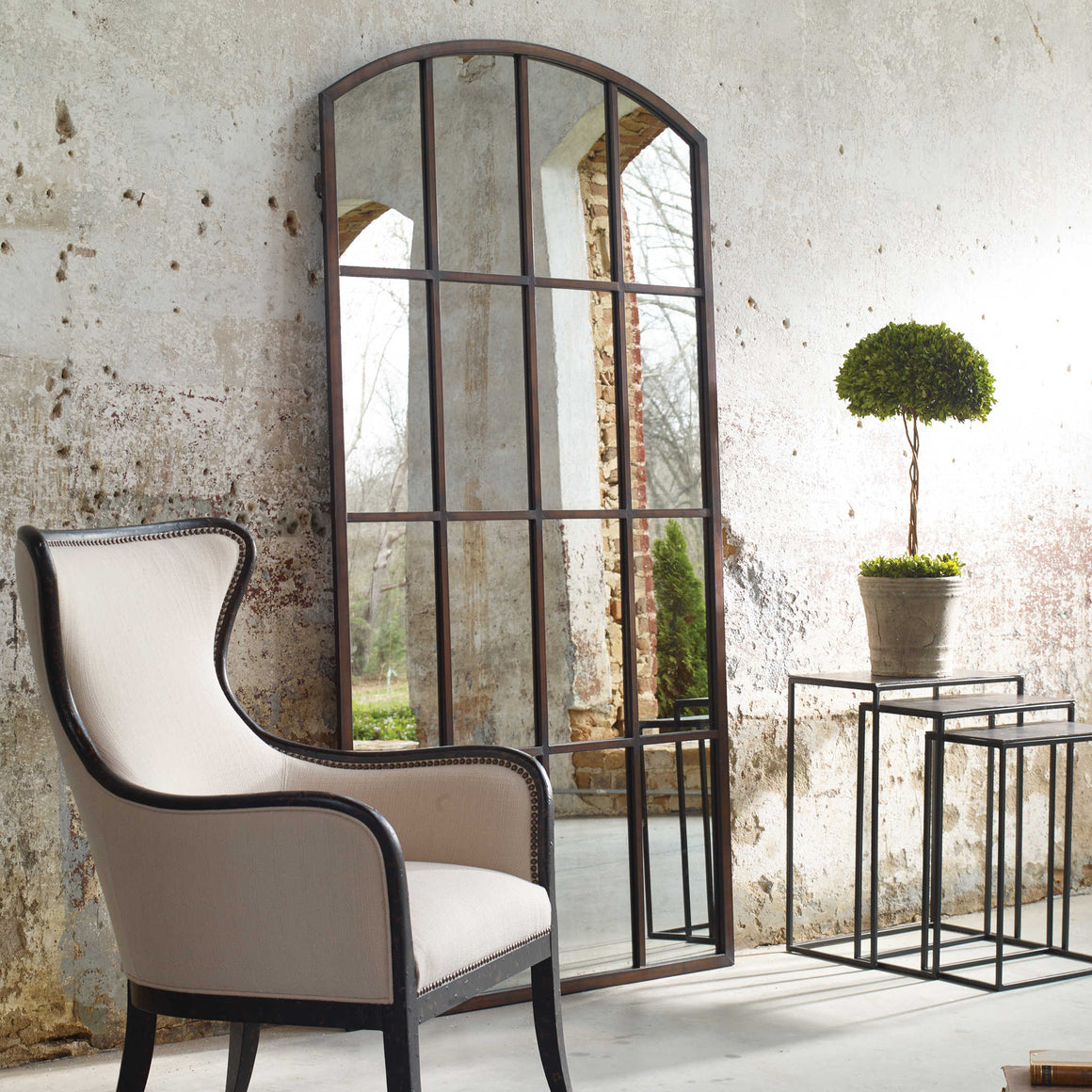 Amiel Large Arch Mirror