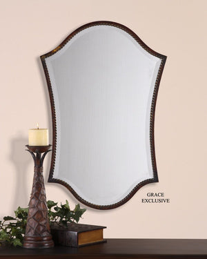 Abra Bronze Vanity Mirror - taylor ray decor