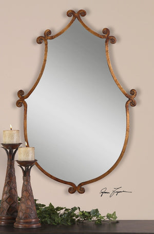 Ablenay Antique Gold Mirror - taylor ray decor