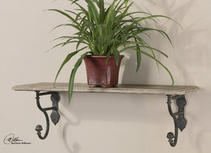 Gualdo Aged Wood Shelf