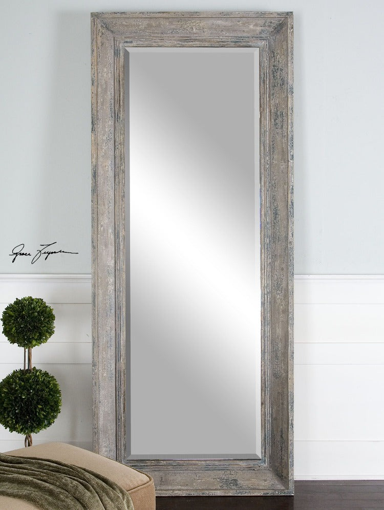 Missoula Distressed Leaner Mirror - taylor ray decor
